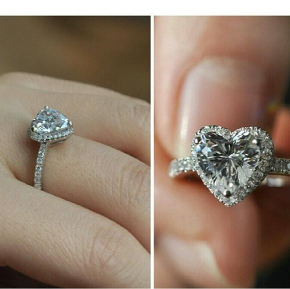 COPY - Sterling silver 925 diamond ring 4 5 6 7 8…